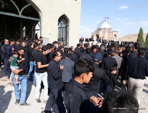 بزرگترین اجتماع  سالانه عزاداران حسینی در بارگاه امامزاده سلطان کریمشاه در روز عاشورا