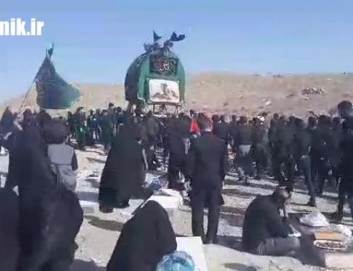 مراسم روز عاشورای۹۸- امام زاده خانیک + فیلم